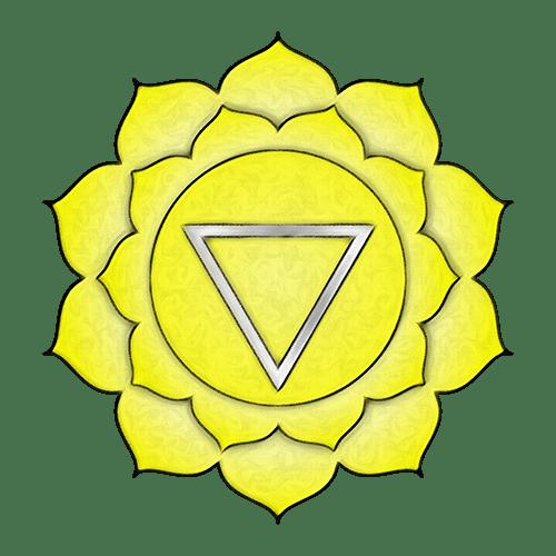 symbole chakra plexus solaire