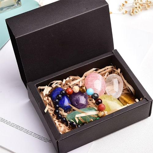 bracelet 7 chakras pierres véritables
