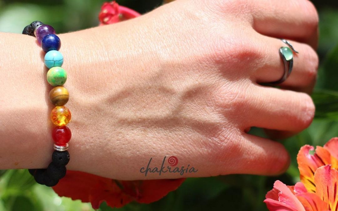 Quels sont les vertus du bracelet 7 chakras en pierres ?