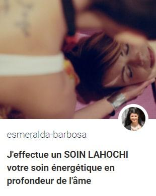 soin lahochi a distance esmeralda
