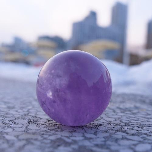 sphere amethyste